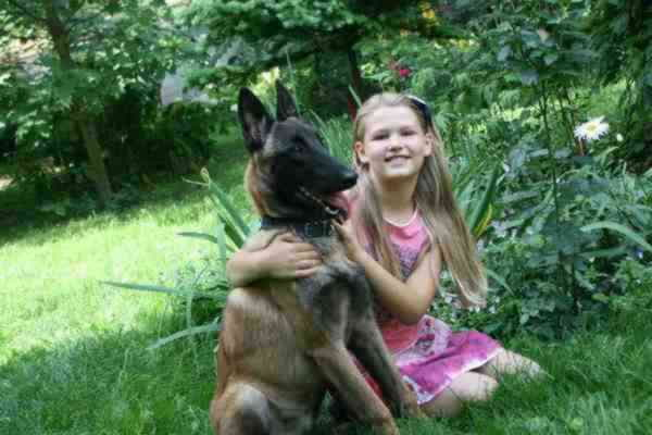 Малинуа с ребенком